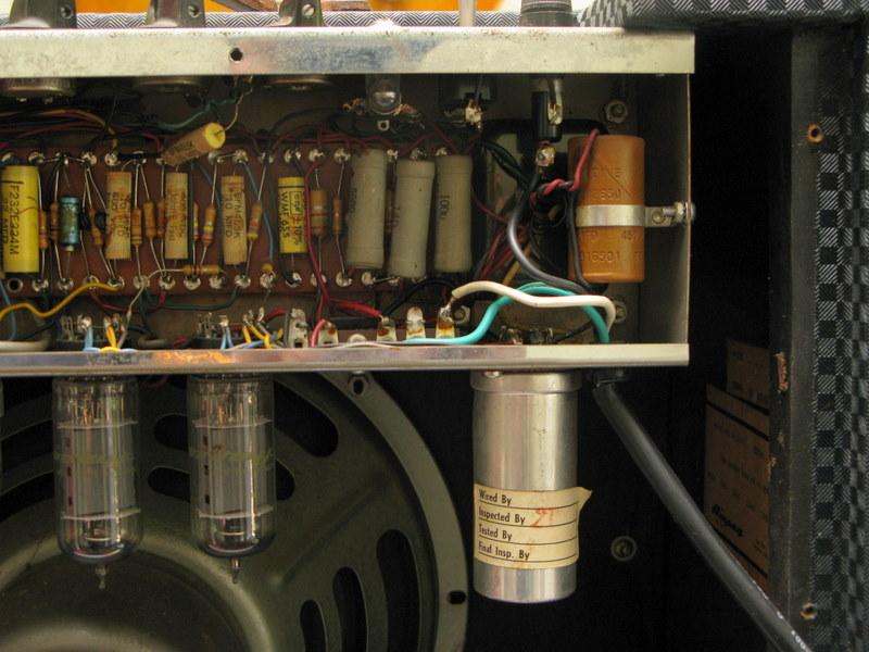Vintage ampeg schematics final, sorry